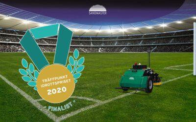 Sandmaster är finalist till Träffpunkt Idrottpriset 2020!