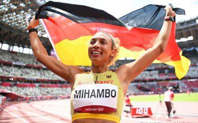 Malaika Mihambo hoppar hem ett olympiskt guld
